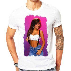 Kelly Kapowski Shirt Saved by the Bell men tshirt